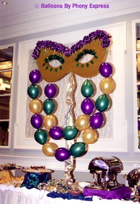 Mask & Balloon Bead Buffet